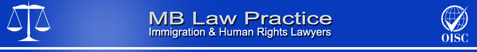 Immigration & Human Rights Lawyers - MB Law Practice